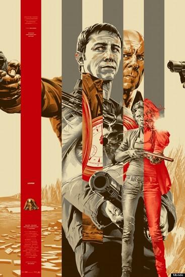 Impresionante cartel de la película, diseñado por la prestigiosa firma Mondo