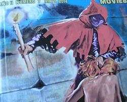 Foto en detalle del número 7 del fanzine Exhumed