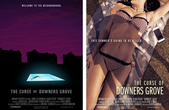 Pósters promocionales de The curse of downers grove