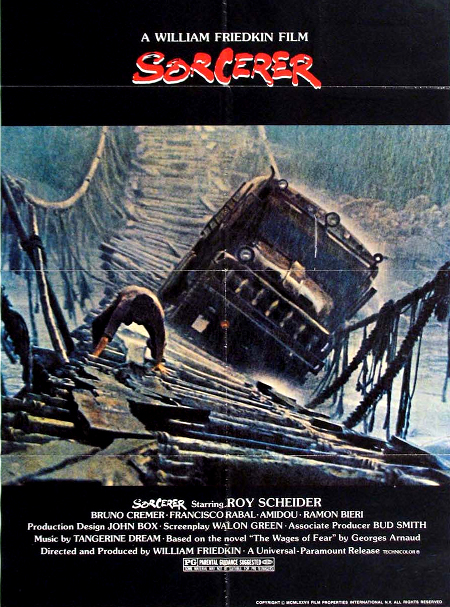 Póster original de la película The sorcerer, de William Friedkin