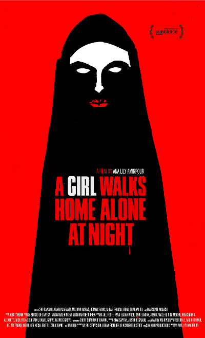 Póster de A girl walks home alone at night