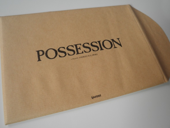 Possession Blu-ray Mondo Vision Limited and Numbered Edition