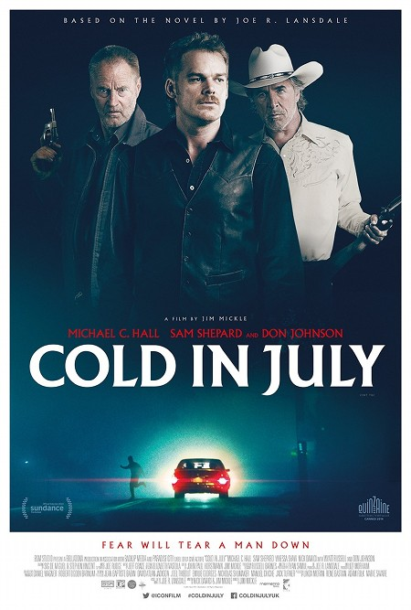 Póster de Cold in july