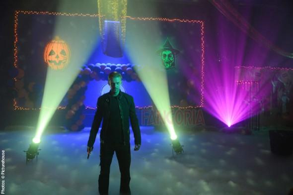 Una imagen de The guest, dirigida por Adam Wingard