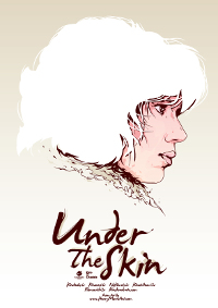 Un póster alternativo de Under the skin
