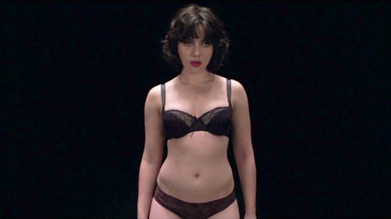 Scarlett Johansson en una imagen de Under the skin