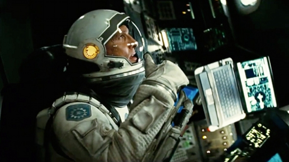 Matthew McConaughey en Interstellar