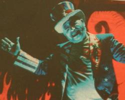 Una imagen extraída de la portada del libro Rob Zombie, las siniestras armonías de la sordidez