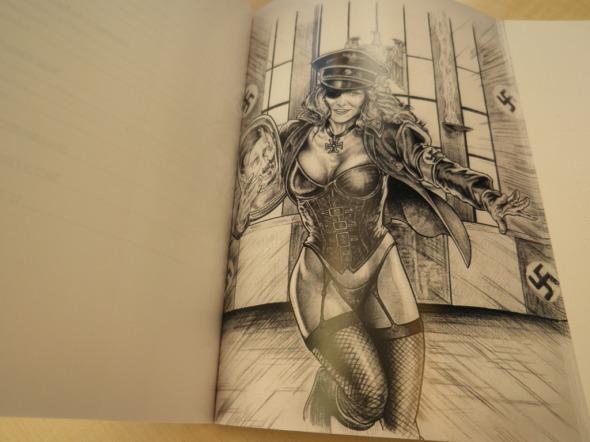Una ilustración del libro Rob Zombie, las siniestras armonías de la sordidez