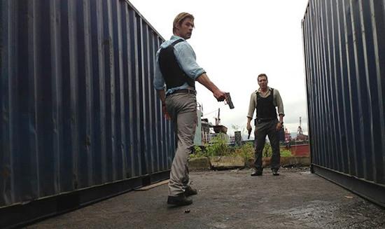 Una imagen de Chris Hemsworth en Blackhat. Amenaza en la red