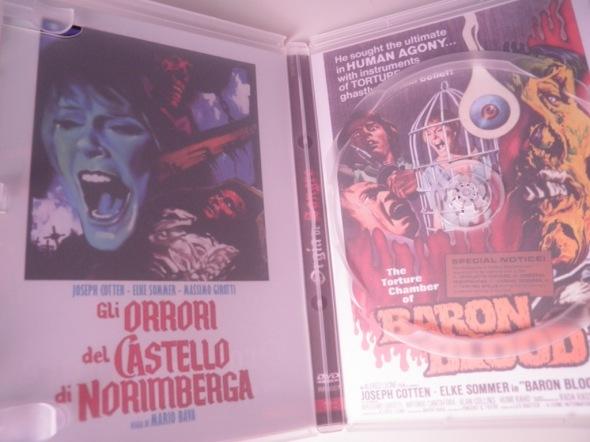 Orgía de sangre, dvd de Regia Films