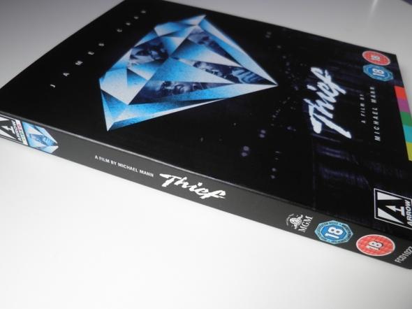 Thief (Ladrón), de Michael Mann, Blu-ray por Arrow Films