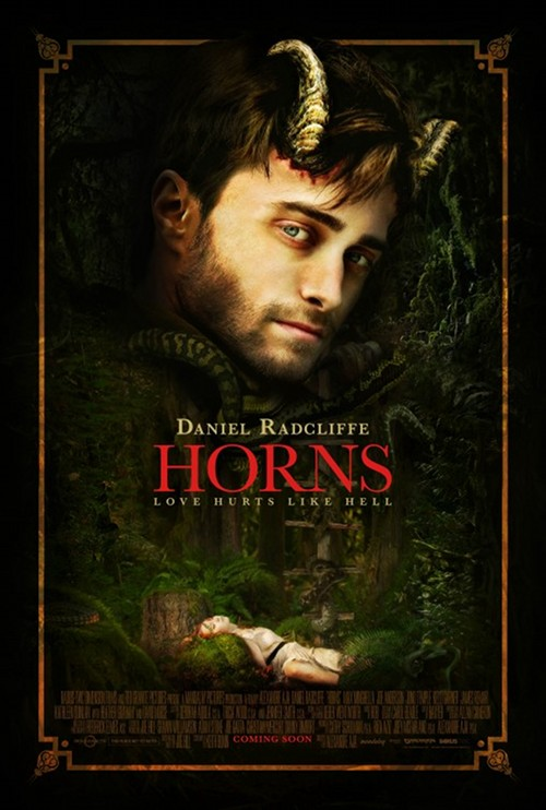 Póster de Horns (Alexandre Aja, 2013)