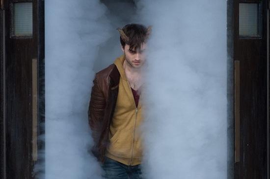 Una imagen de Daniel Radcliffe en Horns