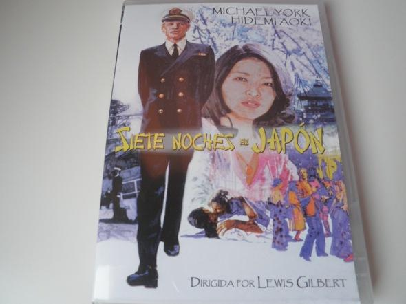 Siete noches en Japón portada dvd videohits