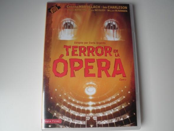 Terror en la opera DVD