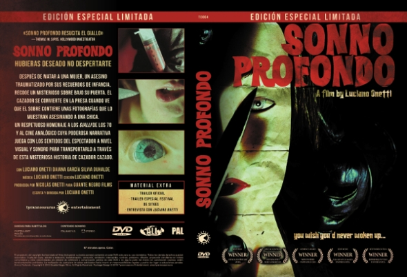 Sonno Profondo DVD Tyrannosaurus Entertainment