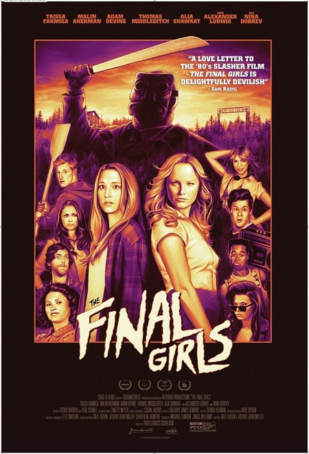 Póster de The final girls, mejor guión en Sitges 2015