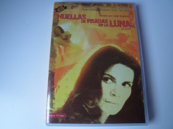 Huellas de pisada en la luna DVD, de Luigi Bazzoni