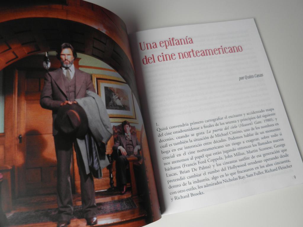 La puerta del cielo Edición Coleccionista libreto Blu-ray