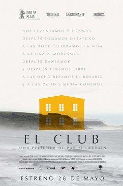 Póster de El club (Pablo Larraín)