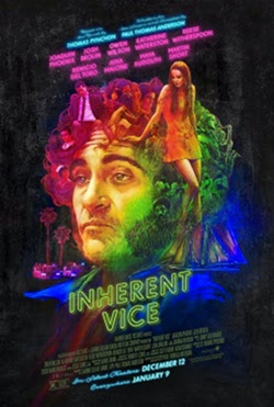 Póster de Puro Vicio (Inherent Vice, Paul Thomas Anderson)
