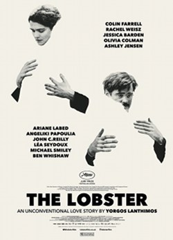 Póster de Langosta (The Lobster, Yorgos Lanthimos)