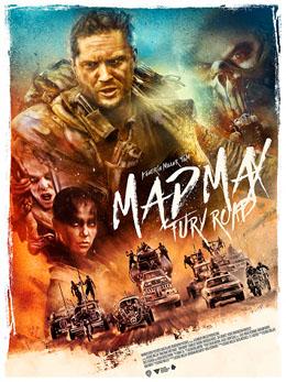 Póster de Mad Max: Furia en la carretera (Mad Max: Fury Road, George Miller)