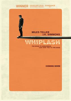Póster alternativo de Whiplash (Damien Chazelle)
