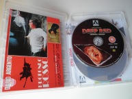 Deep Red Arrow Films Limited Edition interior amaray