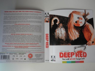 Deep Red Arrow Films Limited Edition carátula reversible