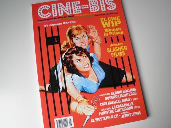 Portada del número 5 del fanzine Cine-Bis