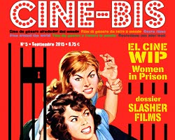 Una imagen de la portada del número 5 del fanzine Cine-Bis