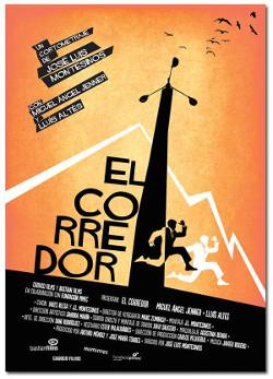 Póster del cortometraje El corredor, de José Luis Montesinos
