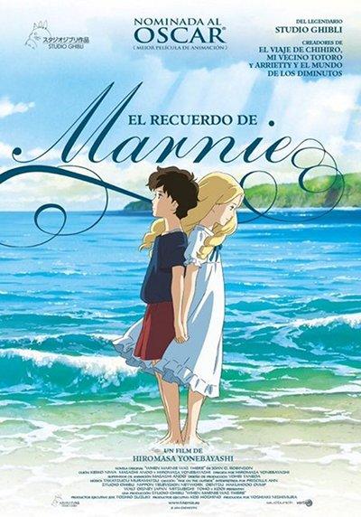 Cartel de El recuerdo de Marnie, dirigida por Hiromasa Yonebayashi