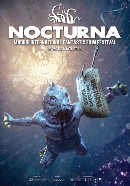 Cartel de la IV Edición del Festival Internacional de Cine Fantástico de Madrid, Nocturna