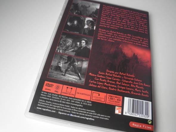 La maldición de la llorona contraportada DVD