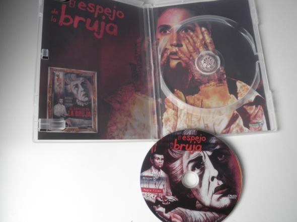 El espejo de la bruja interior DVD