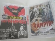 Interior vacío del DVD de Los vampiros (I Vampiri), de Riccardo Freda