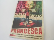 Portada del DVD de Francesca, de Luciano Onetti