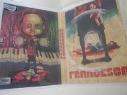 Interior vacío del DVD de Francesca, de Luciano Onetti