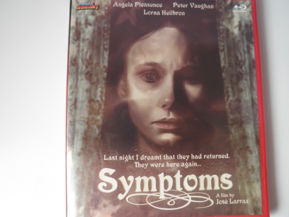 Symptoms Mondo Macabro - Cover Blu-ray