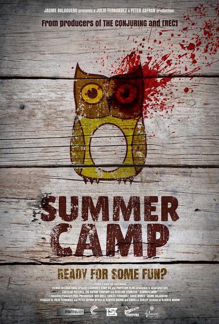 Póster de Summer Camp, dirigida por Alberto Marini