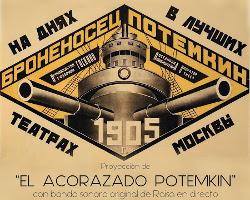 Raisa interpretará canciones propias para la proyección de El acorazado Potemkin