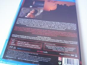 La frusta e il corpo, trasera Blu-ray