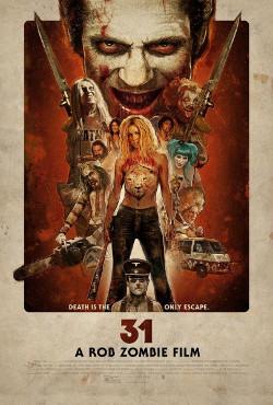 Poster de 31, de Rob Zombie