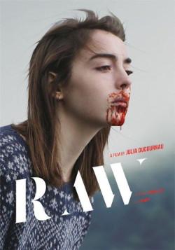 Poster de Grave (Crudo), dirigida por Julia Ducournau