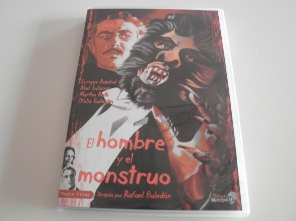 El hombre y el monstruo portada DVD