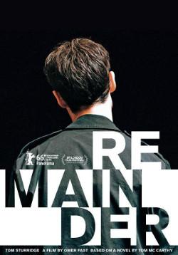 Poster de Remainder, dirigida por Omer Fast