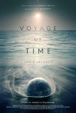 Poster de Voyage of Time, dirigida por Terrence Malick